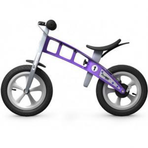 Bicicleta Infantil Sin Pedales FirstBike Street Violeta