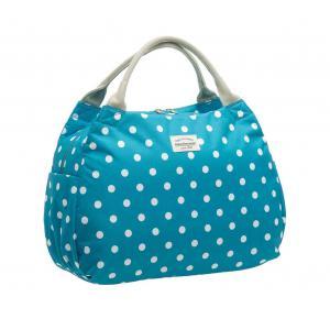 Alforja New Looxs Polka Tosca Polyester Impermeable Azul 16 Litros