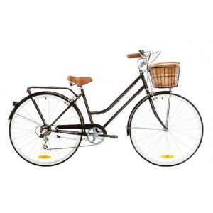 Bicicleta Urbana Reid Bikes Classic 7v Negro