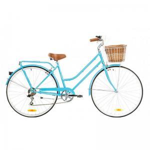 Bicicleta Urbana Reid Bikes Classic 7v Azul Claro