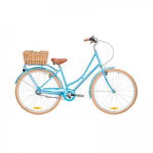 Bicicleta Urbana Reid Bikes Deluxe 3v Azul Claro