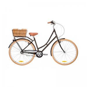 Bicicleta Urbana Reid Bikes Deluxe 3v Negro