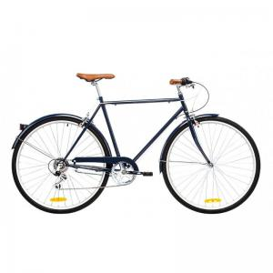 Bicicleta Urbana Reid Bikes Roadster Azul Oscuro