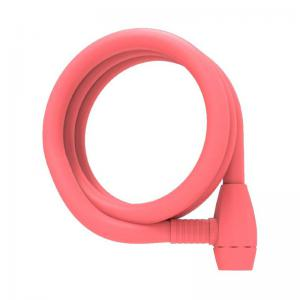 Candado Urban Proof Espiral Llave 150cm x 12mm Rosa