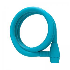 Candado Urban Proof Espiral Llave 150cm x 12mm Azul