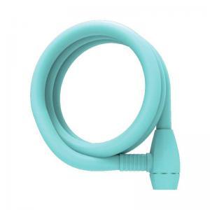 Candado Urban Proof Espiral Llave 150cm x 12mm Azul Claro