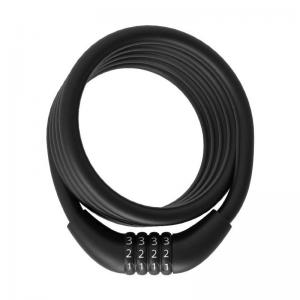 Candado Urban Proof Espiral Combinación 150cm x 12mm Negro