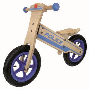 Bicicleta Infantil Sin Pedales Madera M-Wave Police