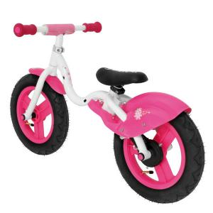 Bicicleta Infantil Sin Pedales Relev Blanco/Rosa
