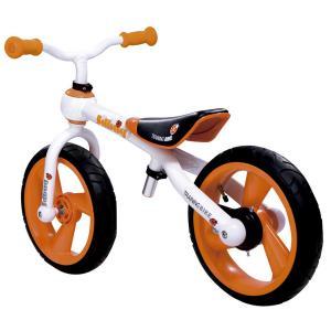 Bicicleta Infantil Sin Pedales Relev Blanco/Naranja