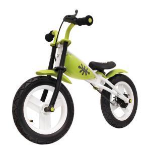 Bicicleta Infantil Sin Pedales Relev Blanco/Verde