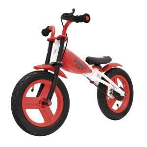 Bicicleta Infantil Sin Pedales Relev Blanco/Rojo