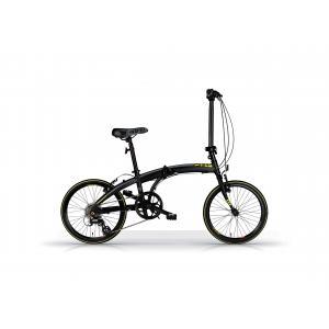 Bicicleta Plegable MBM Snap Negro