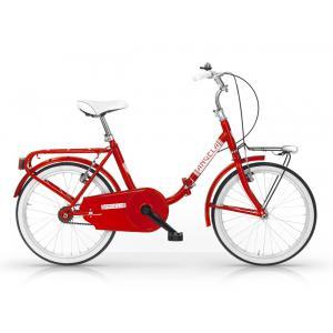 Bicicleta Plegable MBM Angela Rojo