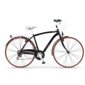 Bicicleta Urbana MBM Vintaje 700 21v Negro