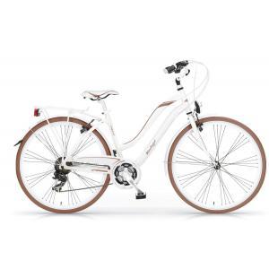Bicicleta Urbana MBM Vintaje 700 21v Blanco