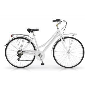 Bicicleta Urbana MBM Central 700 6v Blanco