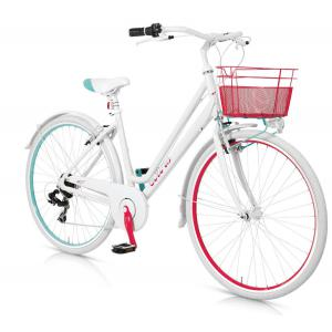 Bicicleta Urbana MBM Colors 700 6v Blanco