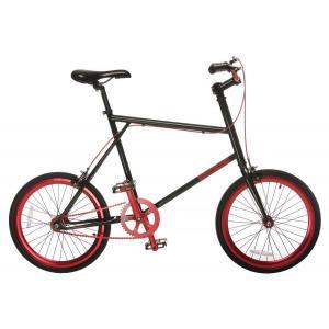 Bicicleta Urbana MIXIE Mini Fixed Negro/Rojo