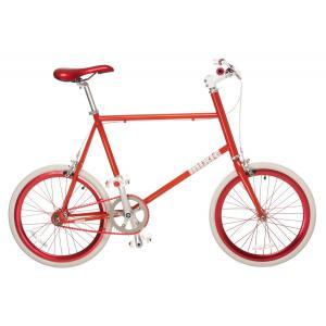 Bicicleta Urbana MIXIE Mini Fixed Rojo/Blanco