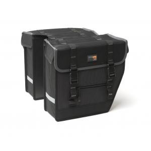 Alforjas New Looxs Superior Midi Impermeables Negro 27 Litros