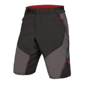 Pantalón Corto Endura Hummvee Short II Negro-Gris