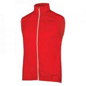 Chaleco Impermeable ENDURA Pakagilet II Rojo