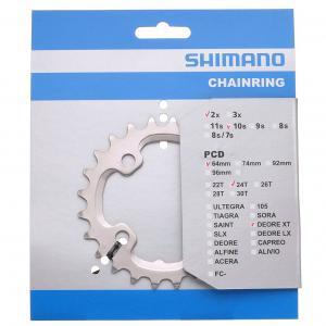 Plato Mtb Shimano XT FC-M785 BCD64mm 2x10v 24T
