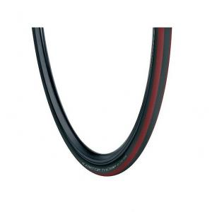Cubierta Carretera 700x23 Vredestein Freccia Tricomp Negro-Rojo