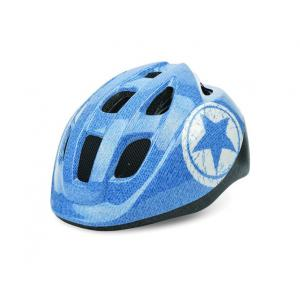 Casco Polisport Junior Jeans Azul-Blanco