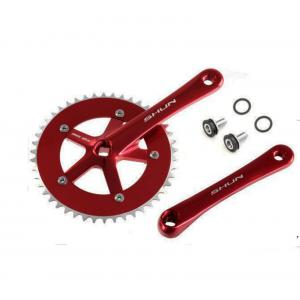 Platos y Bielas Shun Fixie Single Speed Rojo