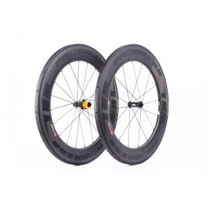 Par Ruedas Carretera Progress Space Compatible Shimano Negro