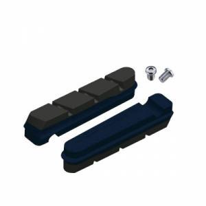 2 Zapatas Freno Carretera Jagwire Pro S Compatible Sram-Shimano Carbono