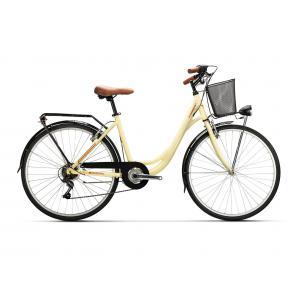 Bicicleta Urbana Conor Soho 6v Crema