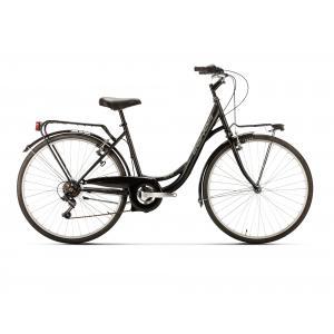 Bicicleta Urbana Conor Soho Aluminio 6v Negro