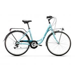 Bicicleta Urbana Conor Soho Aluminio 6v Turquesa