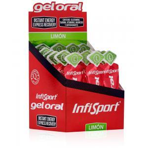 Pack 18 Recuperantes Energéticos Gel Oral Infisport Limón