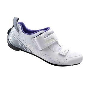 Zapatillas Triathlón Shimano Lady TR5 Blanco