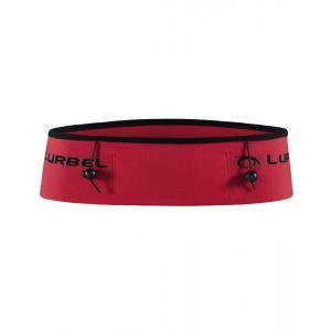 Cinturón Dorsal Triatlón Lurbel Rojo-Negro