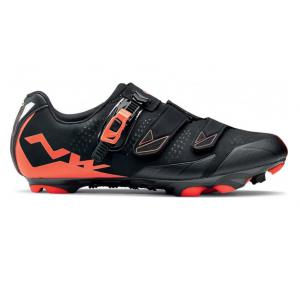 Zapatillas Mtb Northwave Scream 2 SRS Negro-Naranja Lobster