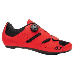 Zapatillas Carretera GIRO Savix II Negro-Rojo