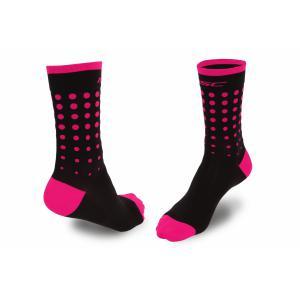 Calcetines MSC Flamingo Negro-Rosa