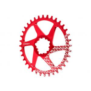 Plato Mtb Onoff Direct Mount Compatible Sram Gxp 28T Rojo