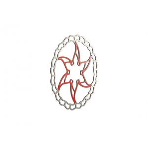Disco de Freno ASHIMA Ai2 180mm Rojo