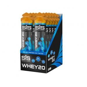 Pack 12 Geles SIS Proteína Whey20 Caramelo