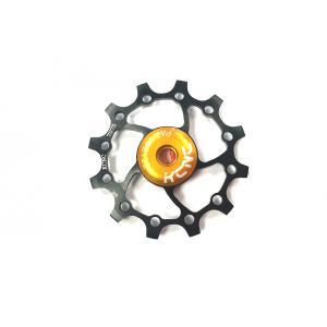 Ruleta Cambio KCNC Compatible Sram/Shimano X-Sync Monoplato Negro 13 Dientes