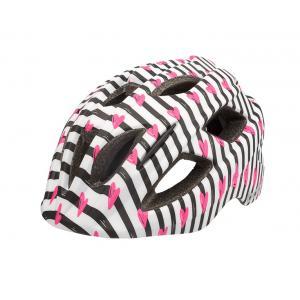 Casco Infantil BOBIKE Plus Zebra Corazones