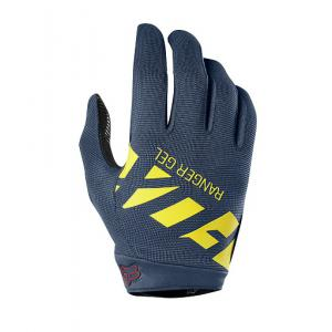 Guantes Largos FOX Ranger Gel Gris-Amarillo