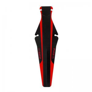 Guardabarros Trasero ZEFAL Shield Lite Negro/Rojo