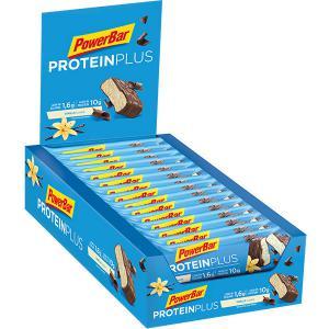 Pack 30 Barritas Energéticas POWERBAR Protein Plus + Low Sugar Vainilla